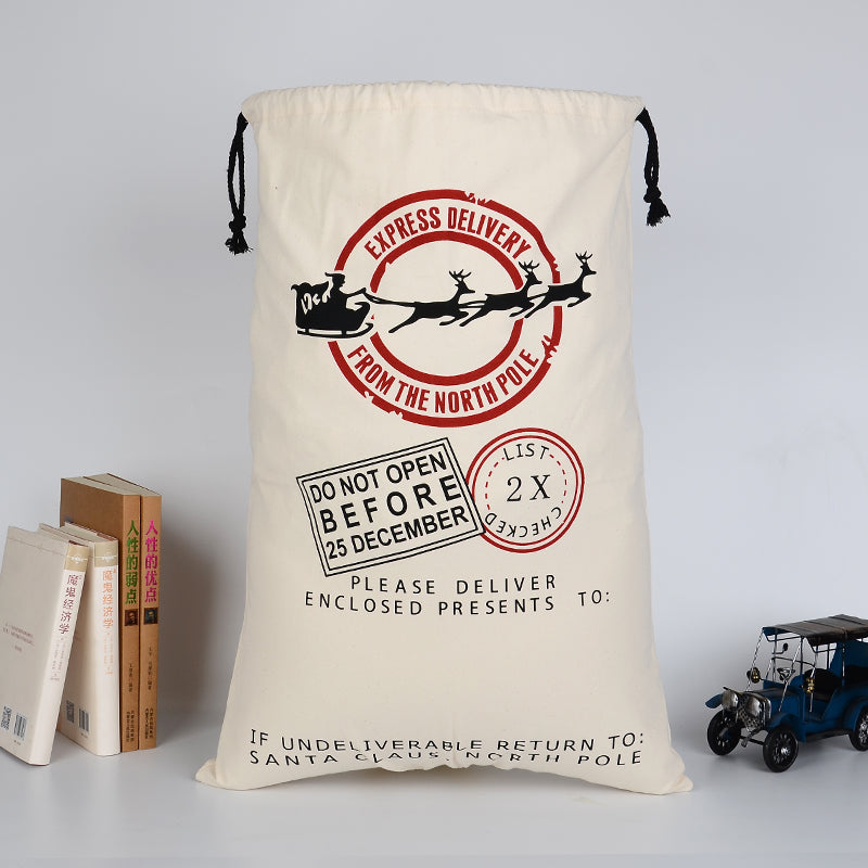 Express Delivery Customizable Santa Sack