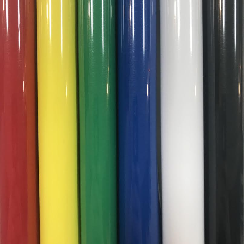Primary Color 5 Foot Rolls HTV Bundle