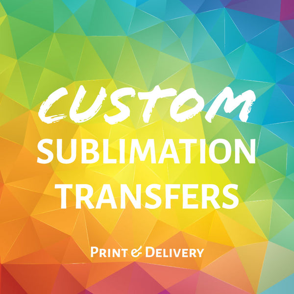Custom Sublimation Transfers
