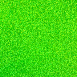 Fluorescent Green Glitter Adhesive Vinyl - StarCraft Magic Deceit Glitter