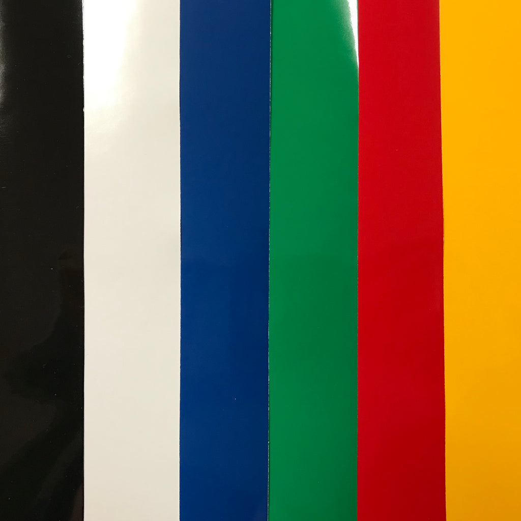 Primary Colors Oracal 651 Vinyl Bundle