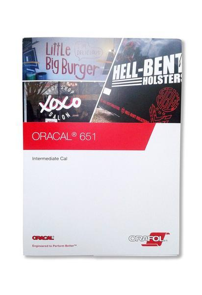Oracal 651 Color Chart Brochure