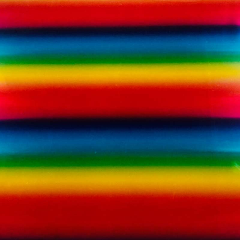 Rainbow Multi Patterned Heat Transfer Vinyl  (DecoFilm Soft Metallics)