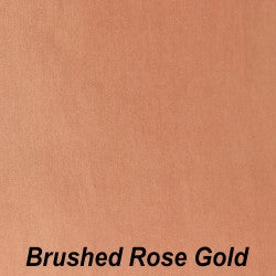 Brushed Rose Gold Permanent Adhesive Vinyl - StarCraft Metal