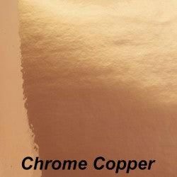 Copper Chrome Adhesive Vinyl - StarCraft Chrome