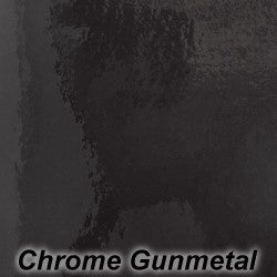 Gun Metal Chrome Adhesive Vinyl - StarCraft Chrome