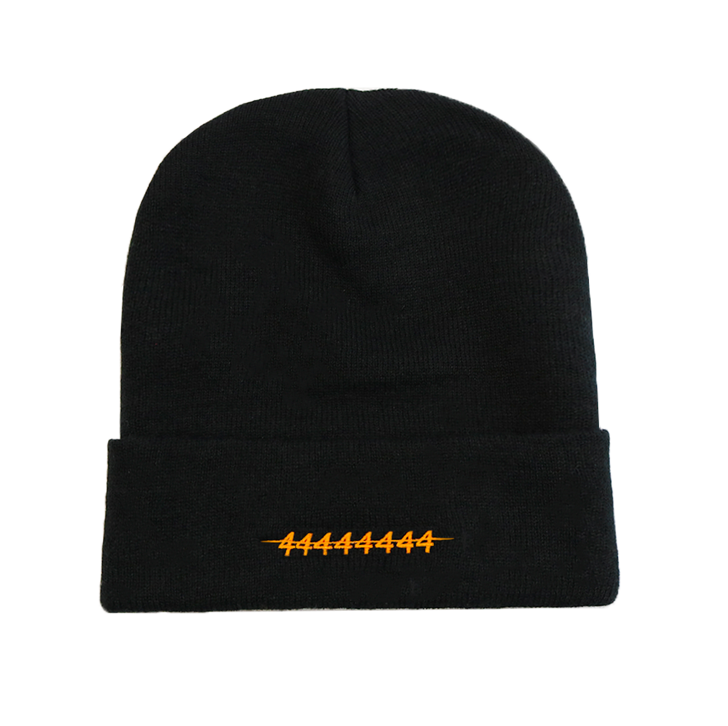 LOGO BEANIE ORANGE/BLACK