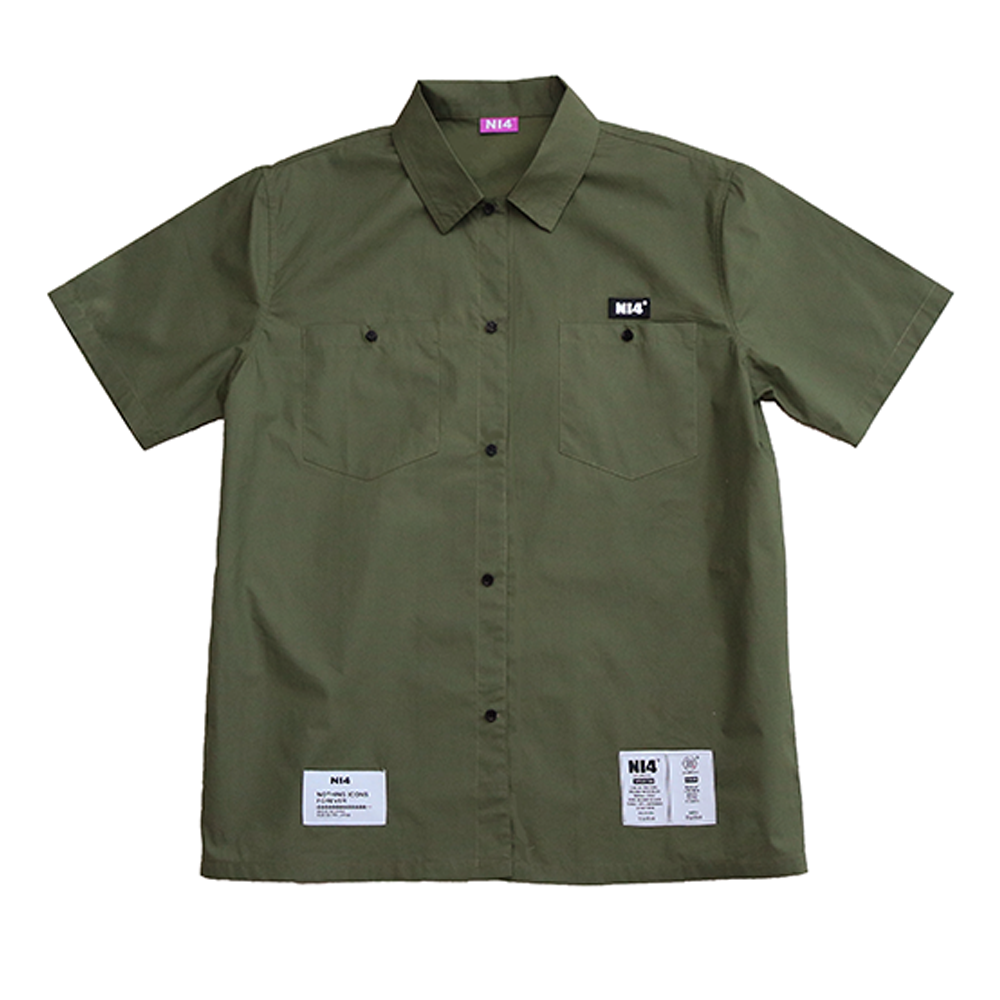 BUTTON-UP SHORT SLEEVE