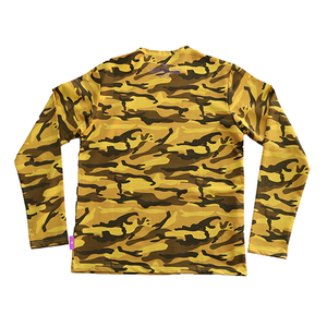 CAMO LONG SLEEVE YELLOW