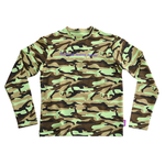 CAMO LONG SLEEVE LIME