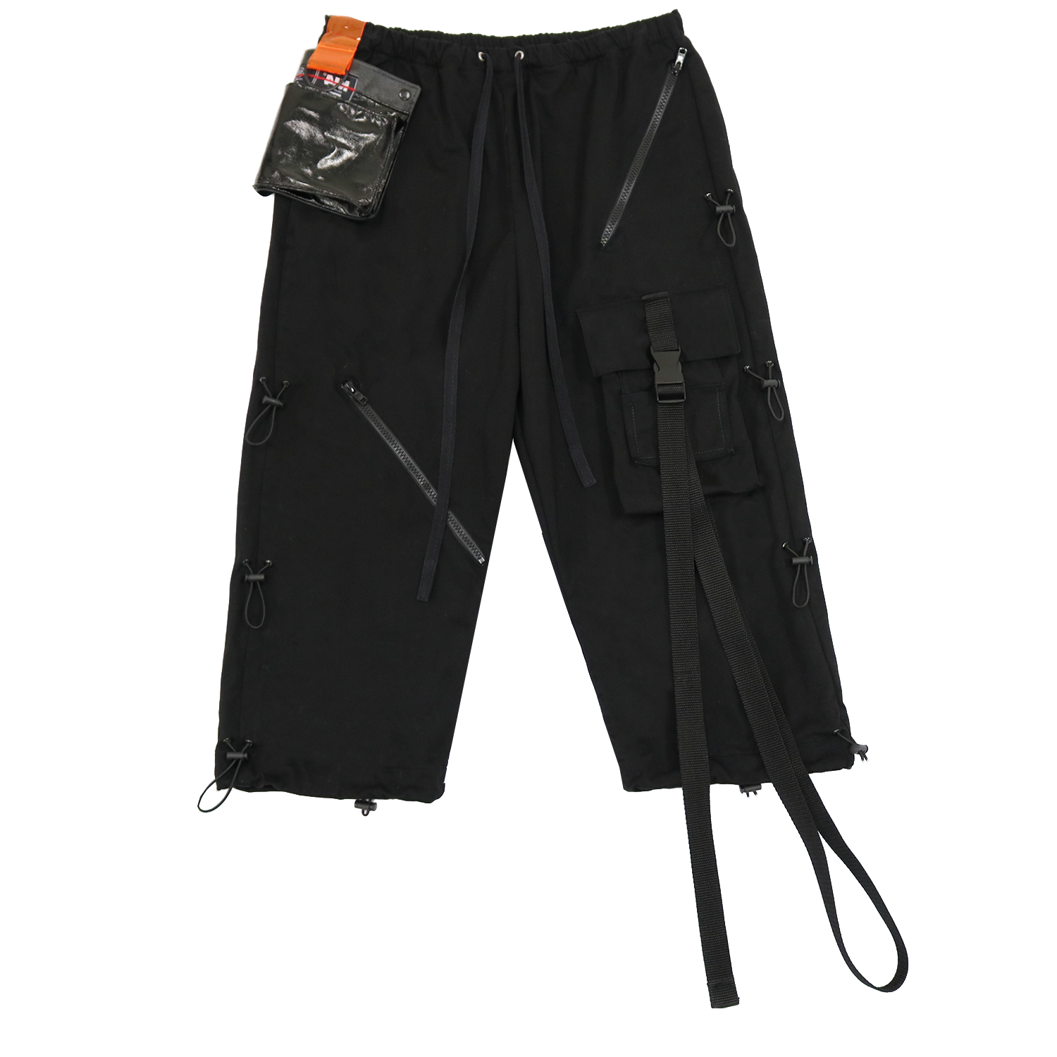 ELASTIC WORK PANTS