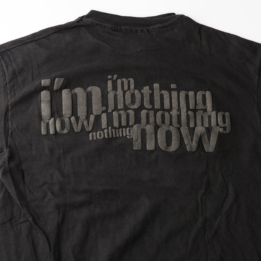 "Nine Inch Nails ""Now I'm Nothing"" Vintage T-shirt"
