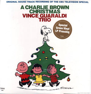 Vince Guaraldi Trio,  A Charlie Brown Christmas (Green Vinyl)