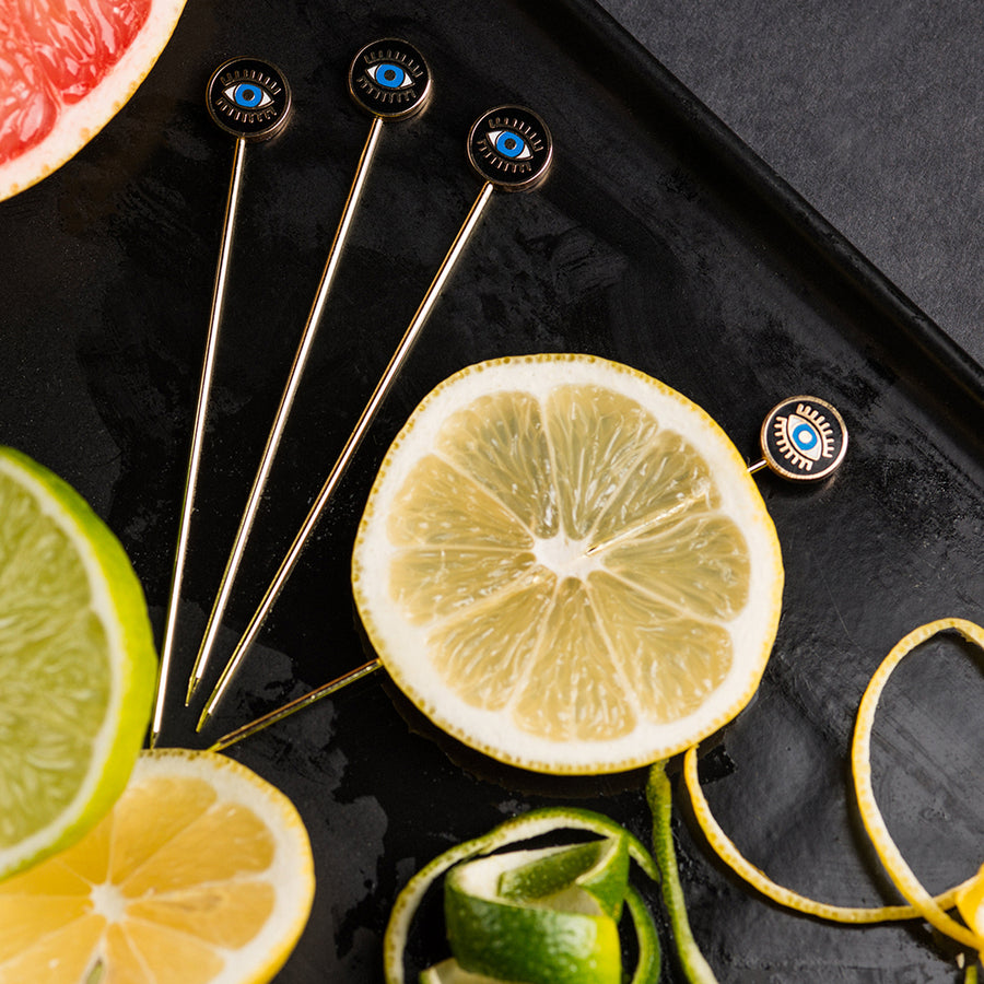 Evil Eye Cocktail Picks