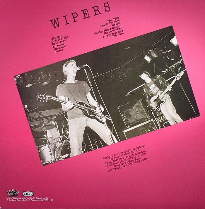 Wipers, Over the Edge