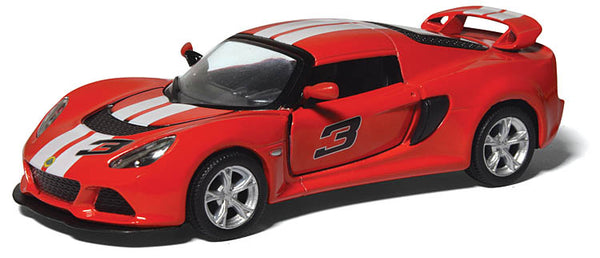 Kinsmart- 2012 Lotus Exige S with stripes - Loose 1:32 Diecast