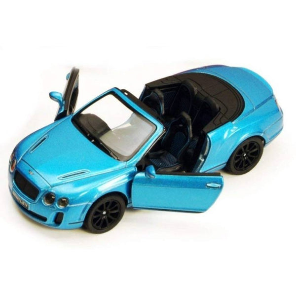 Kinsmart- 2010 Bentley Continental Supersports Convertible- Loose 1:38 Diecast