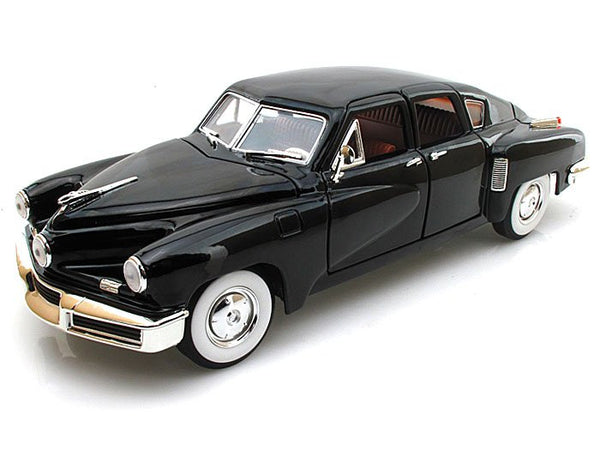Black 1948 Tucker Torpedo 1:18 Scale