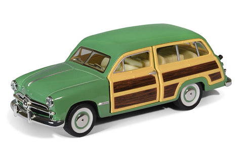 Kinsmart- 1949 Ford Woody Wagon - Loose 1:40 Diecast