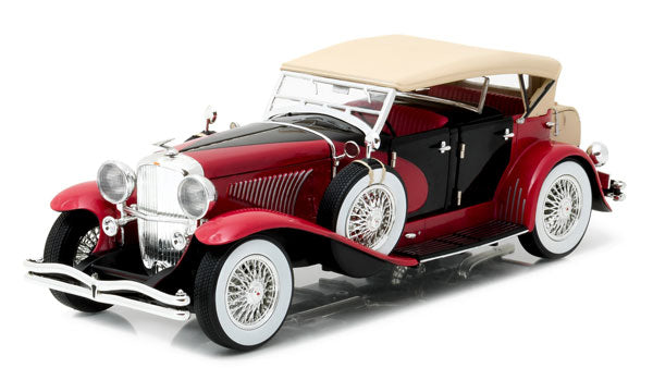 Duesenberg II SJ - Red/Black with Beige Top
