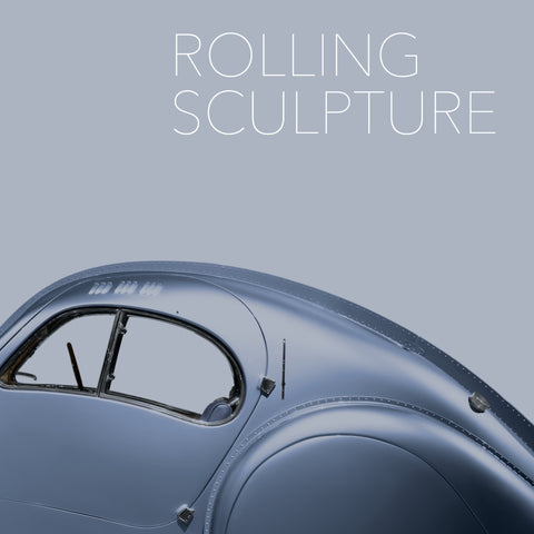 Rolling Sculpture Exhibit Book