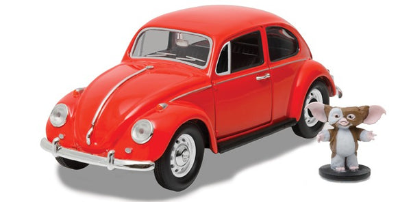 Greenlight 1:18 Hollywood - Gremlins - 1967 Volkswagen Beetle with Gizmo Figure