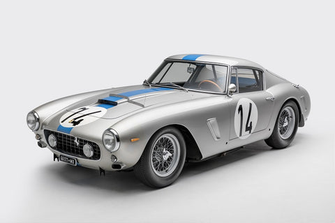 Ted 7 Metal Prints - 1961 Ferrari 250GT SWB