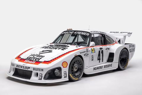 Ted 7 Metal Prints - 1979 Porsche 935 K3