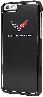 Corvette Black Hard Metallic Finish iPhone Case