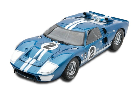 Shelby Collectible 1966 Ford GT-40 MK II #2 Blue 1:18 Scale