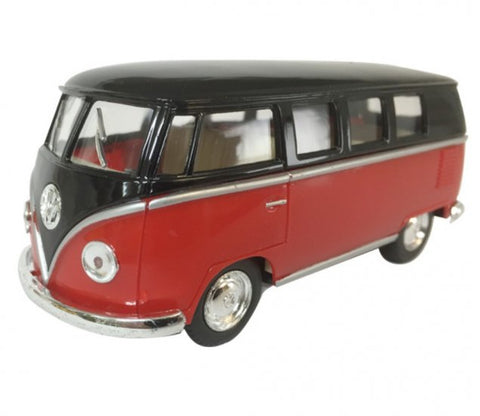 Kinsmart- 1962 Volkswagen Classical Buns Two Tone - Loose 1:32 Diecast
