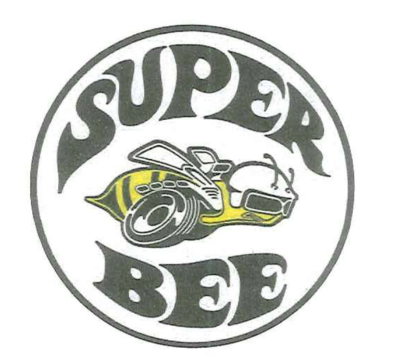 "Super Bee 12"" Round Tin Sign"