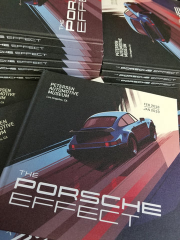 The Porsche Effect Hardcover Exhibit Book