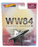 Hot Wheels Retro Entertainment- Wonder Woman Invisible Jet 1:64 Scale