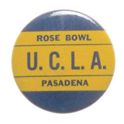 Rose Bowl UCLA Pin-Back Button (1962) 1 3/4""