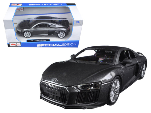 Maisto Audi R8 V10 Plus Grey Special Edition 1:24 Scale