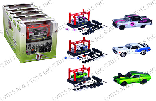 M2 MACHINES 1:64 MODEL-KIT & AUTO-LIFT WAVE 7