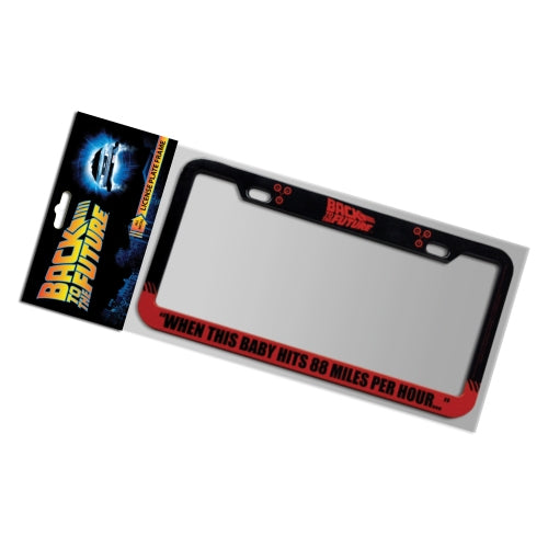 Back to the Future 88 MPH License Plate Frame