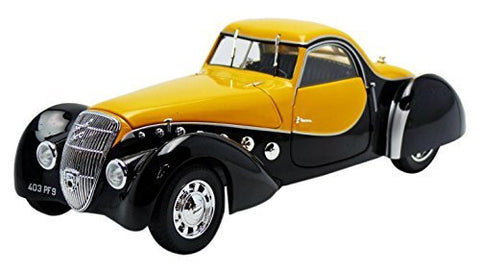 1937 Peugeot 302 Darl Mat Coupe 1:18 Scale