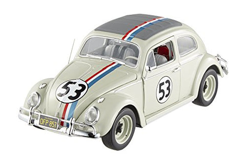 Herbie Goes to Monte Carlo 1962 Volkswagen #53 - Hot Wheels Elite 1:18 scale