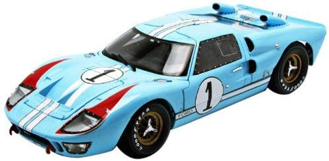 1966 Ford GT40 Le Mans #1 1:18 Scale