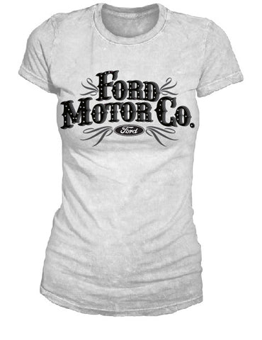 Ford Word Ladies Rhinestone