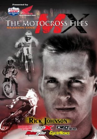 MX Files Rick Johnson DVD