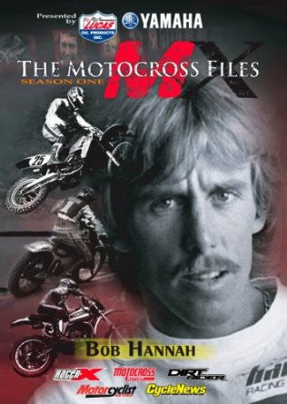 MX Files Bob Hannah DVD