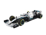 Bburago - Race - Mercedes AMG Petronas F1 W10 EQ Power+ #77 Valtteri Bottas 1:43 Scale