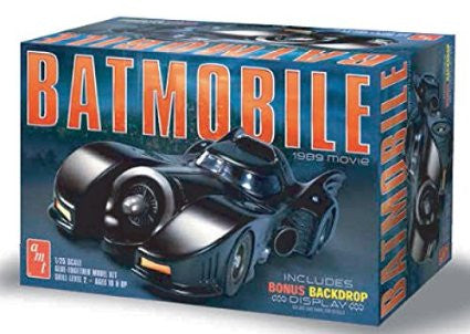 1989 Batmobile Model Kit 1:25 Scale