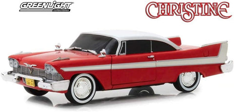 "Greenlight 1:24 Hollywood - Christine - 1958 Plymouth Fury ""Evil Version"""