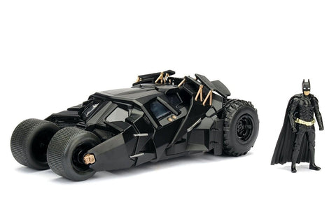 The Dark Knight Batmobile & Batman 1:24 Scale