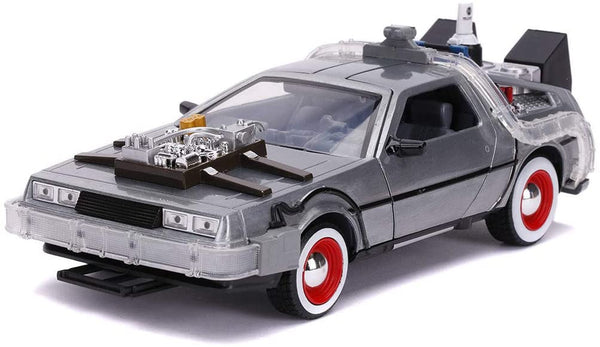 Back to the Future III Time Machine with Light