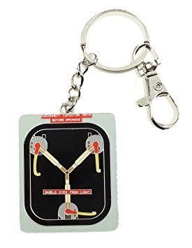 Back To The Future Keychain - Flux Capacitor